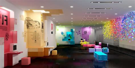 attractive new atmosphere by creating creative office
