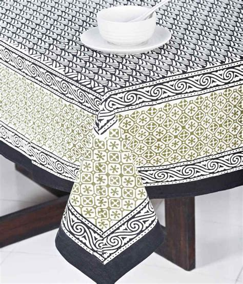 printed table covers fabindia black printed cotton ashmi table cover best price in india on 2nd february 2018 dealtuno