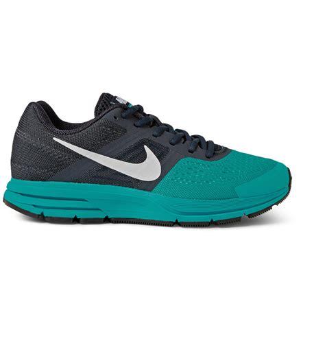 nike mesh sneakers nike air pegasus 30 mesh and rubber sneakers in blue for