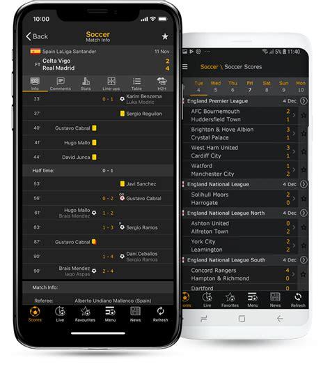 livescore mobile app mobile livescore for sport scores results livescore