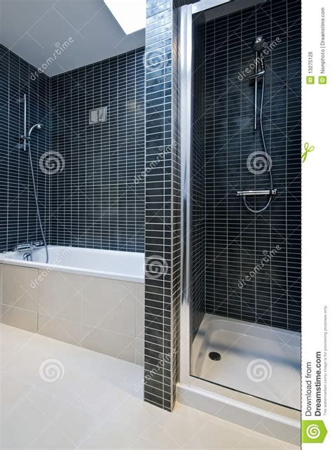 How To Clean Bathroom Sink Drain - modern bathroom detail with bath tub and shower royalty free stock image image 13275126