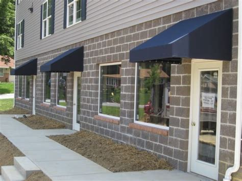 multiple awnings multiple office doorhoods kreider s canvas service inc