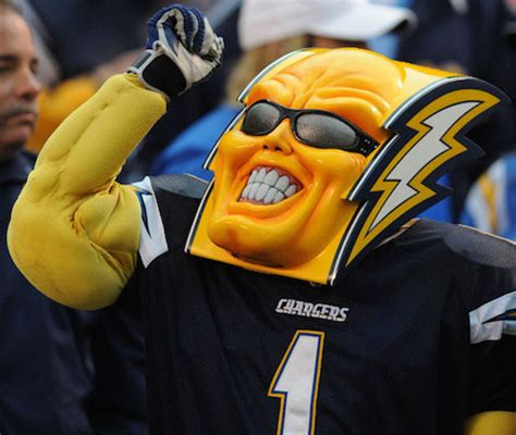 san diego chargers boltman the 10 creepiest and nfl mascots of all time