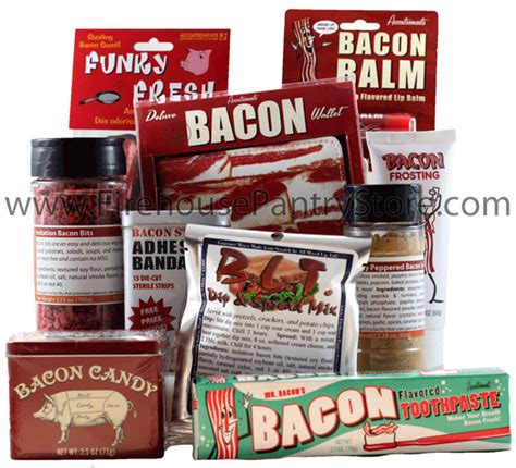 Firehouse Pantry by Bacon Themed Gift Assortment By Firehouse Pantry