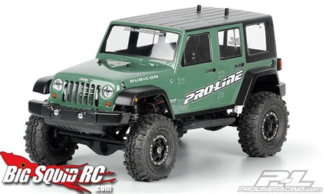 big jeep rubicon pro line jeep wrangler rubicon 171 big squid rc rc