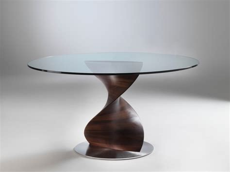 Single Leg Dining Table Porada Elika Dining Table By Gino Carollo Chaplins