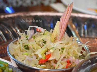 Flower Salad Minyak Salad 3l mamanda restaurant special quot air mata raja quot royal banquet menu singapore johor kaki travels for food
