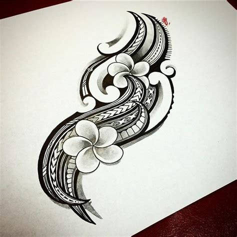 island flower tattoo designs 1000 ideas about polynesian designs on