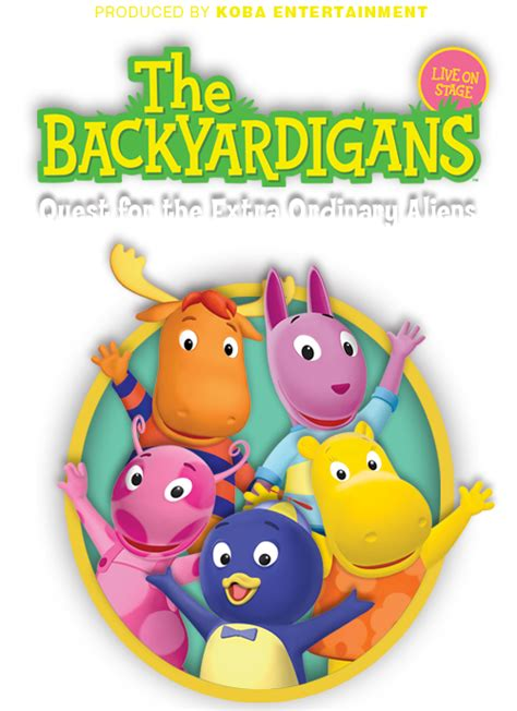 Backyardigans Quest For The Extraordinary Aliens Paquin Artists Agency The Backyardigans Quest For The