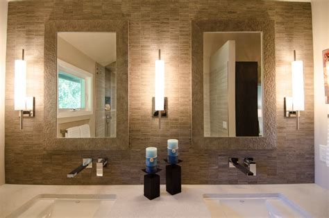 Modern Bathroom Sconces Magnificent 25 Bathroom Sconces Modern Decorating Inspiration Of Modern Bathroom Sconces Design