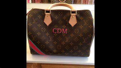 louis vuitton mon monogram speedy    france holy