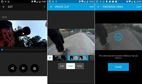 gopro app for android how to use a gopro with your smartphone androidpit