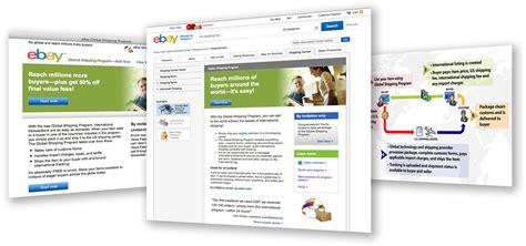 ebay global shipping ebay global shipping program scott design