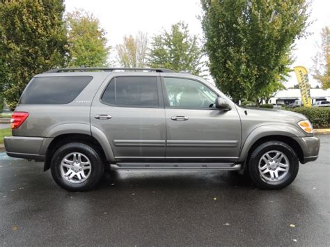 toyota sequoia limited captains chairs used 2003 toyota sequoia limited 3rd row seats leather