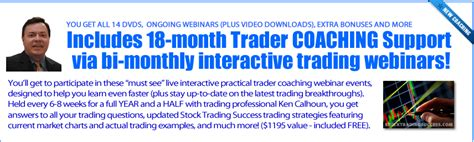 swing trading success stories stock trading success by steve nison ken calhoun