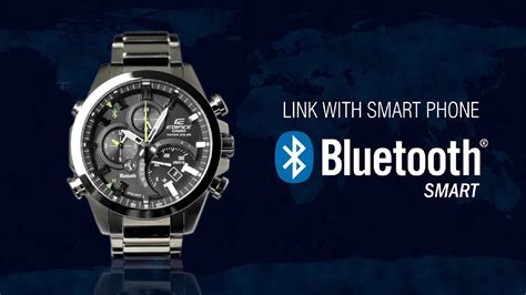 casio bluetooth casio edifice bluetooth 174 smart enabled eqb 500 product