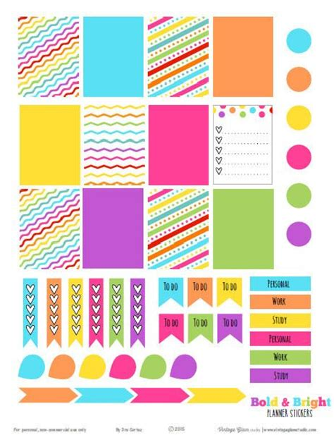 printable planner sticker template 17 best images about erin condren life planners more