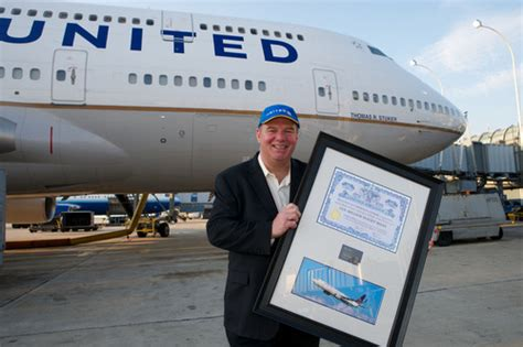 united airlines customer service general travel in sterling united airlines top flyer tom stuker reaches 1 million