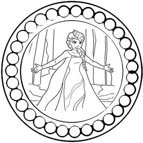 mandalas zum ausdrucken disney eiskonigin ausmalbilder disney mandalas