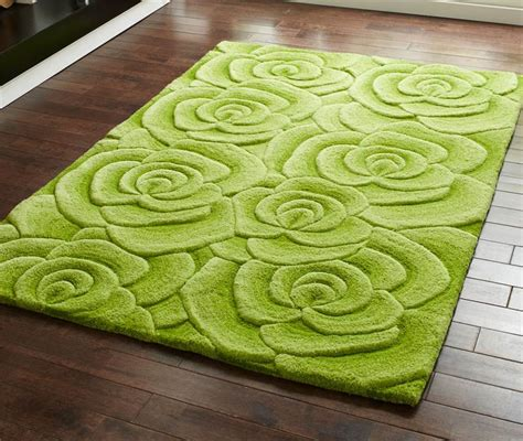 Rugs With Roses On Them by Green Beige Grey Modern Luxury Wool Rug With Large