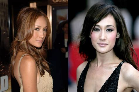 is highlighted hair dated influential vietnamese maggie q