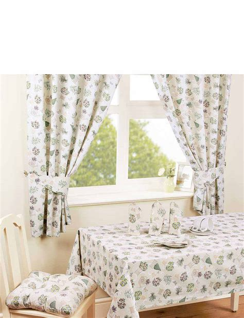 Best Kitchen Curtains Herb Garden Tab Top Kitchen Curtains Chums