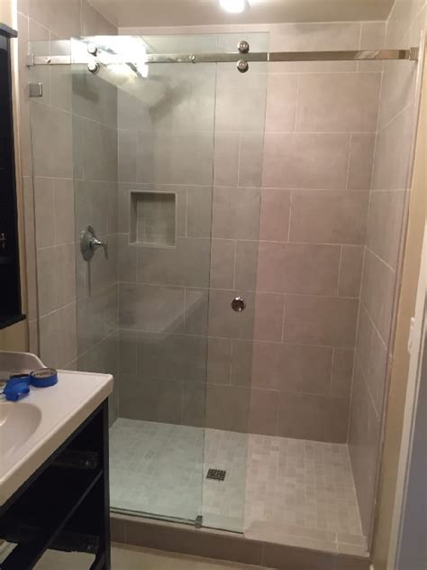 Shower Doors San Diego Sliding Glass Shower Doors Patriot Glass And Mirror San Diego Ca