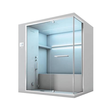 bagni con vasche idromassaggio bagno turco con vasca idromassaggio e doccia idfdesign