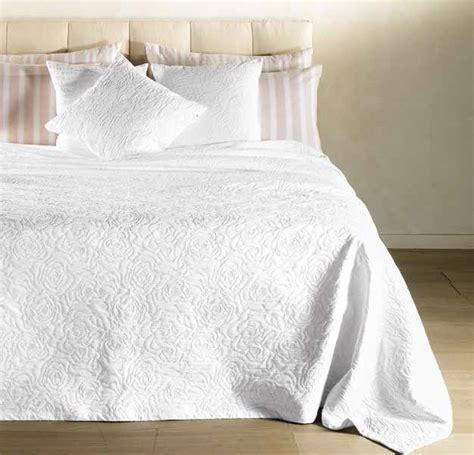 copriletto bianco copriletto trapuntato cotone caleffi naturale bianco
