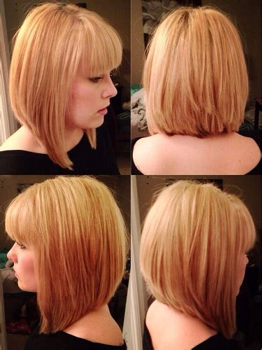 graduated bobs for long fat face thick hairgirls estilo bob graduado peinados estilo bob graduado cortes
