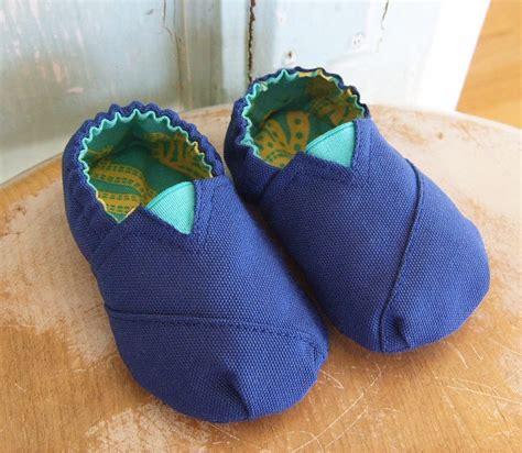 diy toms shoe pattern canvas baby shoe pattern pdf size 3 month to 12 month