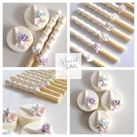 chocolate coated oreos and choc dipped wafer sticks for a