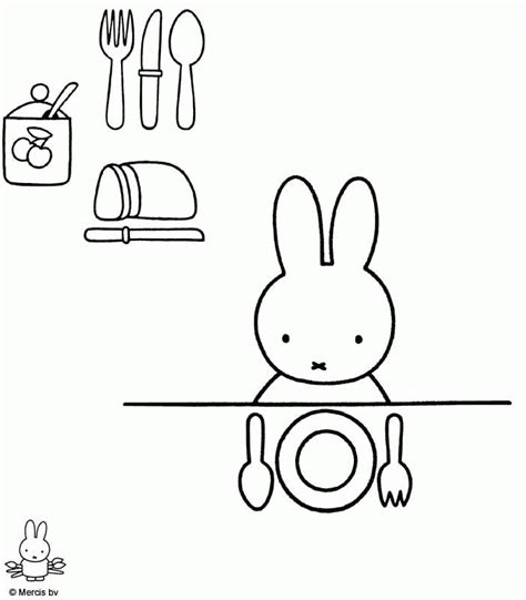 miffy coloring pages coloringpagesabc com