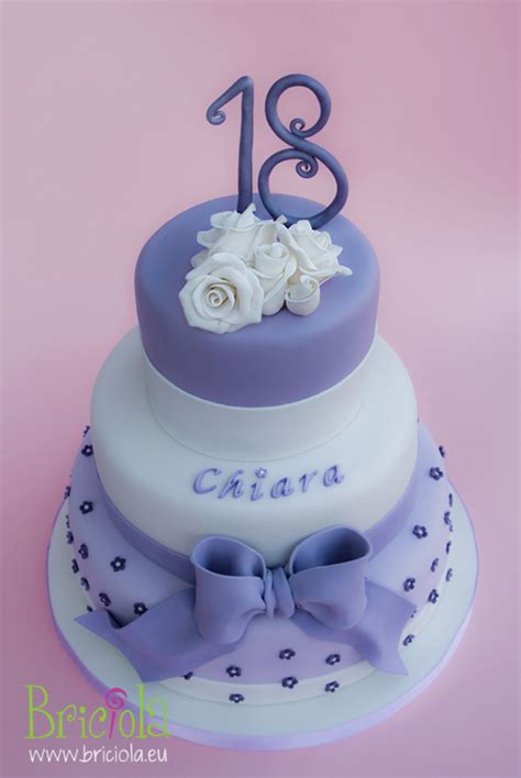 birthday themes 18 year old purple 18 years old cake for girl decorated cakes