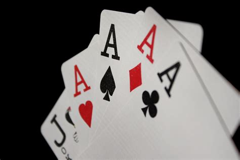 Picture Of A Gift Card - four of a kind aces playing cards picture free photograph photos public domain