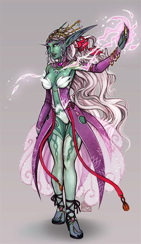 Queen Azshara by kiyo on DeviantArt