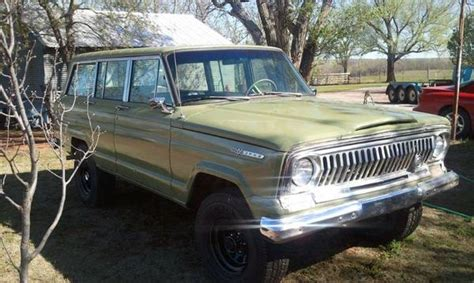 1970 Jeep Grand 1970 Jeep Grand Wagoneer 350 V8 Auto For Sale In Tuttle
