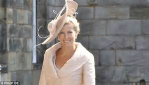 Wessex coming out of her shell looking confident at a wedding in 2011