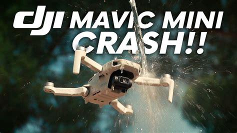dji mavic mini crash youtube