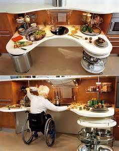 Disabled Kitchen Design by Skyline Lab Wheelchair Friendly Kitchen Design Core77
