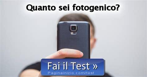 quanto sei test test quanto sei fotogenico