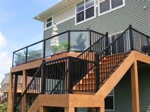 Metal Porch Pickets Deck Railing Ideas How To Choose The Best Rail Design For