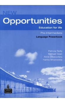 opportunities global pre int language 1405837977 new opportunities global pre int language powerbook pack patricia reilly knihy abz cz