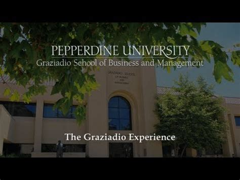 Pepperdine Mba Marketing by Pepperdine Graziadio School Of Business And