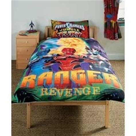power ranger comforter set kids childrens power rangers jungle fury bedding duvet