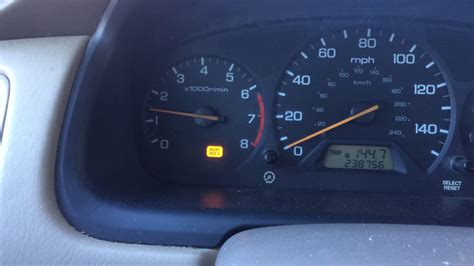 maintenance required light honda accord 2002 2002 pt cruiser check engine light flashes