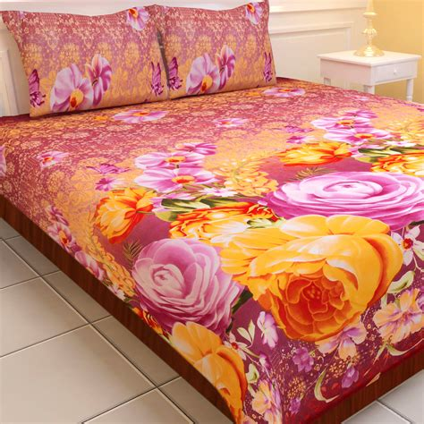soft bed sheets buy luxury queen 5 extra soft 3d print double bedsheets