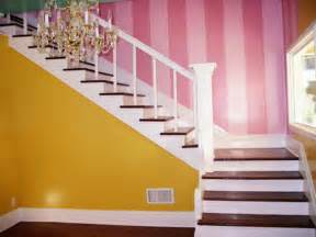 Wall stripes painting for modern home interior design interior