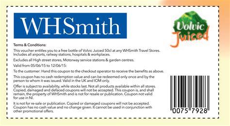 printable whsmith vouchers whsmith voucher