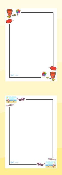 wedding border twinkl twinkl resources summer page borders classroom printables